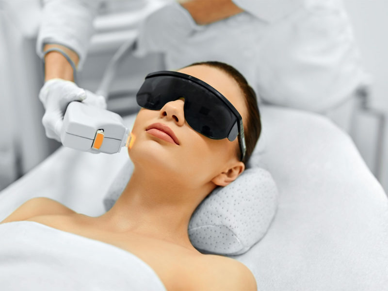 Halo BBL laser treatment